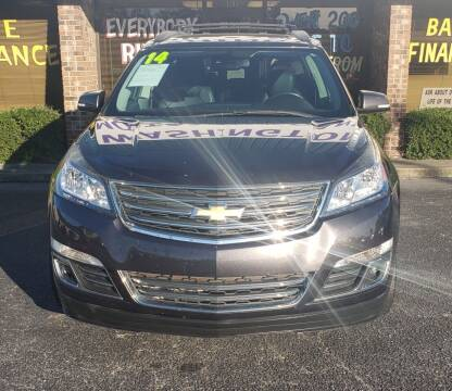2014 Chevrolet Traverse for sale at Washington Motor Company in Washington NC