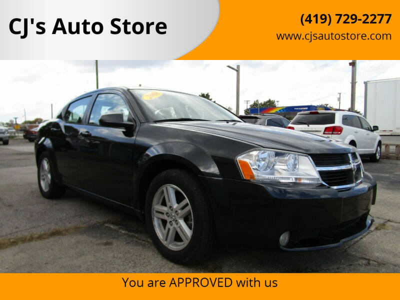 2008 Dodge Avenger for sale at CJ's Auto Store in Toledo OH
