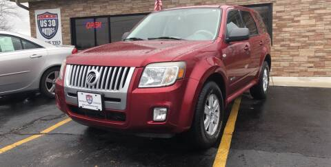 2008 Mercury Mariner for sale at US 30 Motors in Merrillville IN
