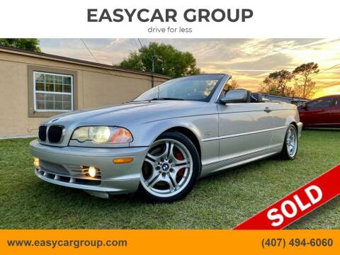 2002 BMW 3 Series for sale at EASYCAR GROUP in Orlando FL