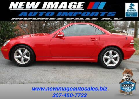 2003 Mercedes-Benz SLK for sale at New Image Auto Imports Inc in Mooresville NC