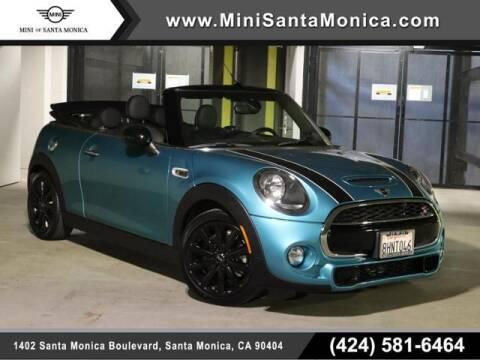 2019 MINI Convertible for sale at MINI OF SANTA MONICA in Santa Monica CA