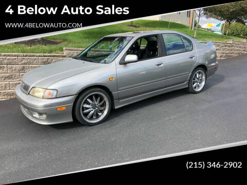 2000 Infiniti G20 for sale at 4 Below Auto Sales in Willow Grove PA