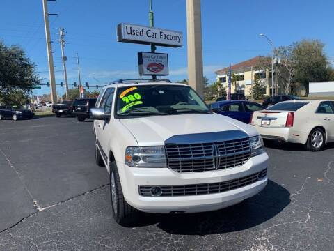 2011 Lincoln Navigator for sale at Used Car Factory Sales & Service in Bradenton FL