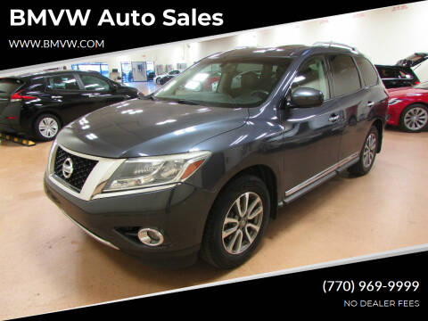2013 Nissan Pathfinder for sale at BMVW Auto Sales in Union City GA