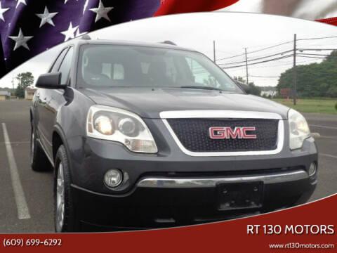 2011 GMC Acadia for sale at RT 130 Motors in Burlington NJ