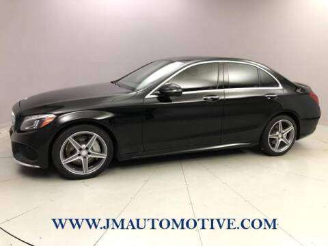 2016 Mercedes-Benz C-Class for sale at J & M Automotive in Naugatuck CT