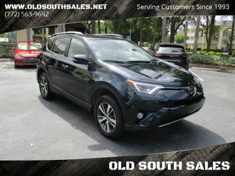 2018 Toyota RAV4 for sale at OLD SOUTH SALES in Vero Beach FL