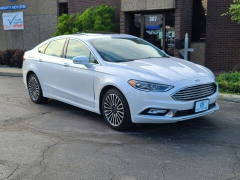 2017 Ford Fusion for sale at Mighty Motors in Adrian MI