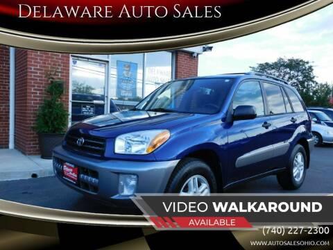 2003 Toyota RAV4 for sale at Delaware Auto Sales in Delaware OH
