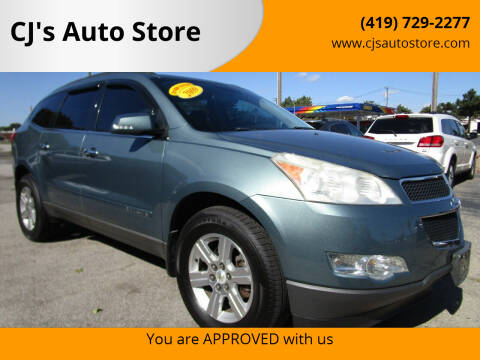 2009 Chevrolet Traverse for sale at CJ's Auto Store in Toledo OH