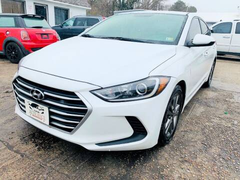 2018 Hyundai Elantra for sale at Auto Space LLC in Norfolk VA