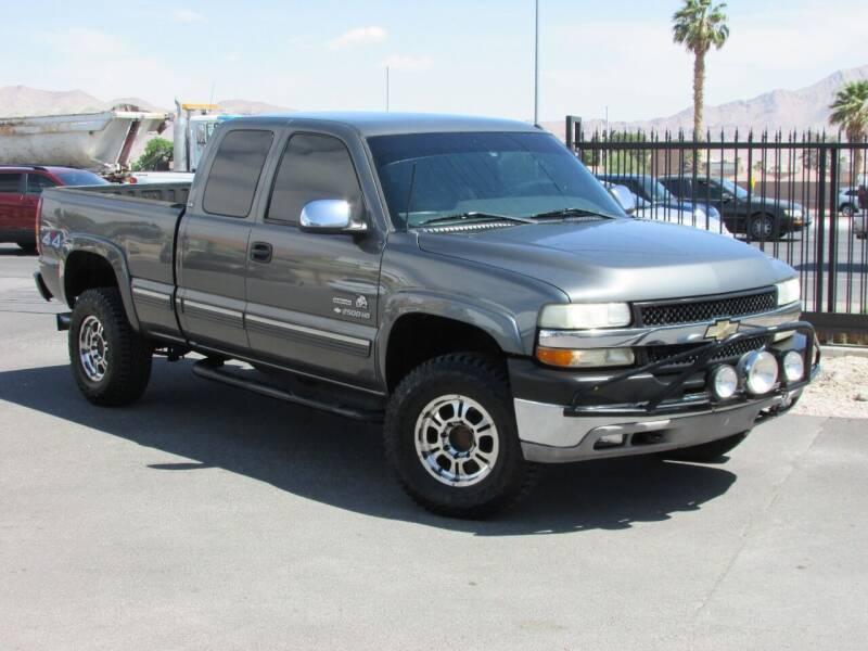 2001 Chevrolet Silverado 2500HD for sale at Best Auto Buy in Las Vegas NV