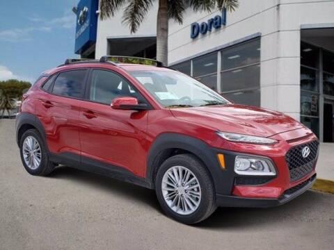 2021 Hyundai Kona for sale at DORAL HYUNDAI in Doral FL