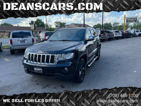 2011 Jeep Grand Cherokee for sale at DEANSCARS.COM in Bridgeview IL