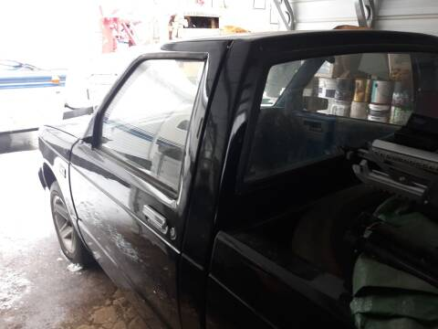 1986 Chevrolet S-10 for sale at Classic Heaven Used Cars & Service in Brimfield MA