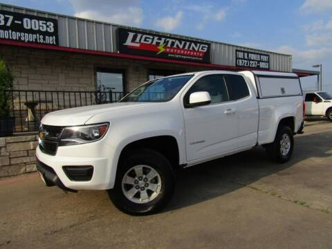 2015 Chevrolet Colorado for sale at Lightning Motorsports in Grand Prairie TX