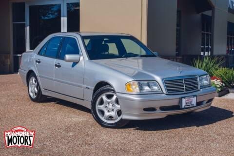 2000 Mercedes-Benz C-Class for sale at Mcandrew Motors in Arlington TX