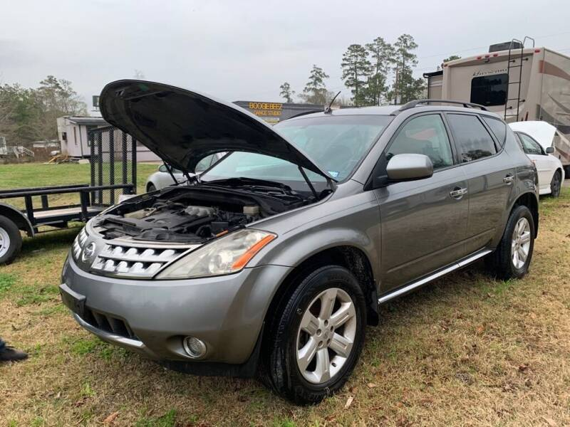 2007 Nissan Murano for sale at AUTO WOODLANDS in Magnolia TX