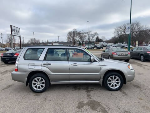 2007 Subaru Forester for sale at Peak Motors in Loves Park IL