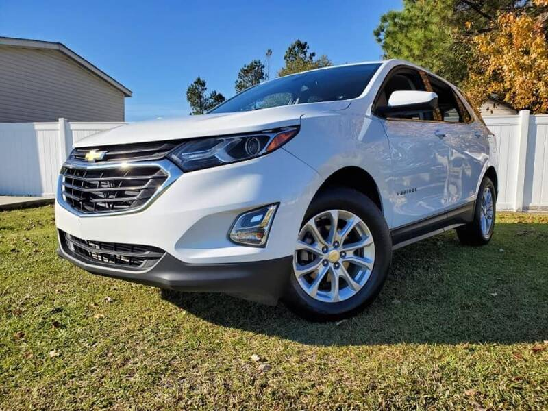 2018 Chevrolet Equinox for sale at Real Deals of Florence, LLC in Effingham SC
