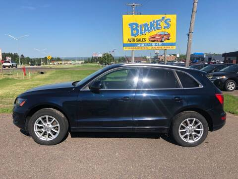 2009 Audi Q5 for sale at Blake's Auto Sales in Rice Lake WI