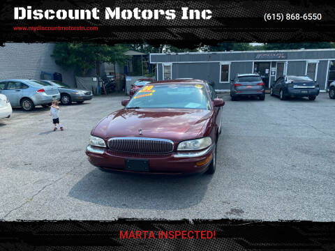 2000 Buick Park Avenue for sale at Discount Motors Inc in Madison TN