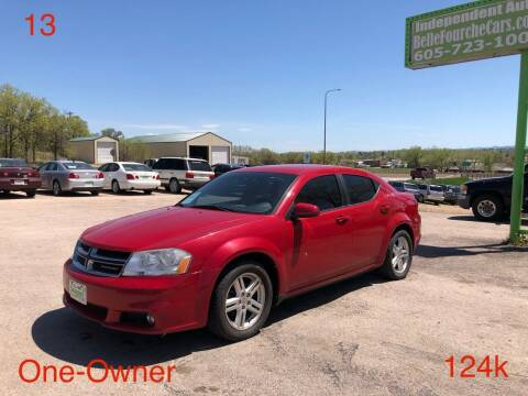 2013 Dodge Avenger for sale at Independent Auto in Belle Fourche SD