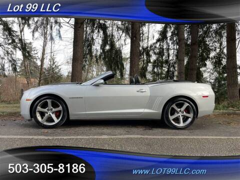 2012 Chevrolet Camaro for sale at LOT 99 LLC in Milwaukie OR