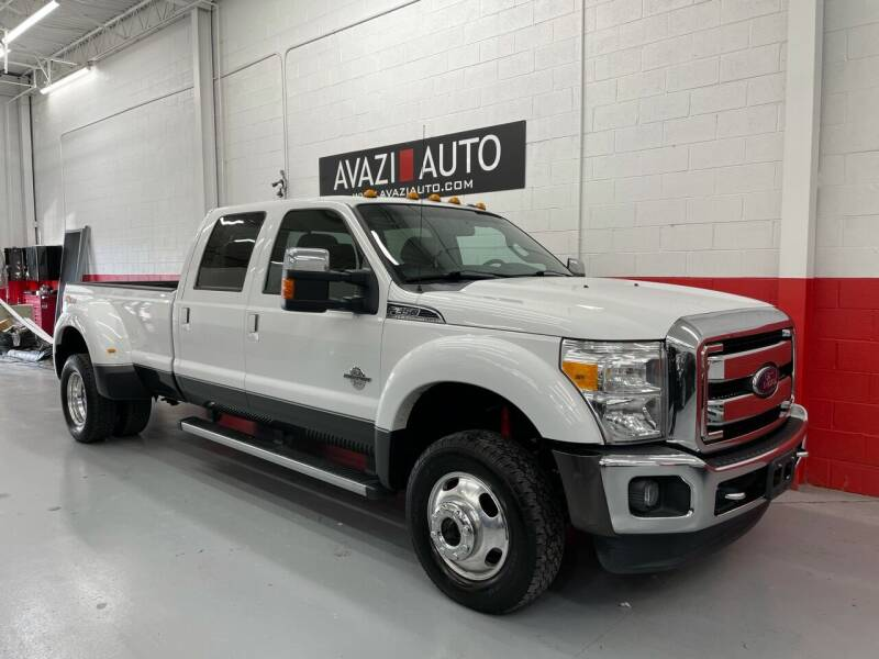 2015 Ford F-350 Super Duty for sale at AVAZI AUTO GROUP LLC in Gaithersburg MD