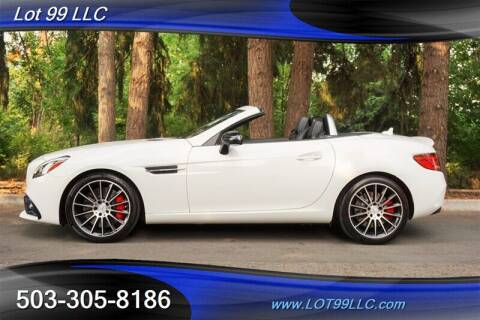2017 Mercedes-Benz SLC for sale at LOT 99 LLC in Milwaukie OR
