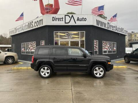 2016 Jeep Patriot for sale at Direct Auto in D'Iberville MS