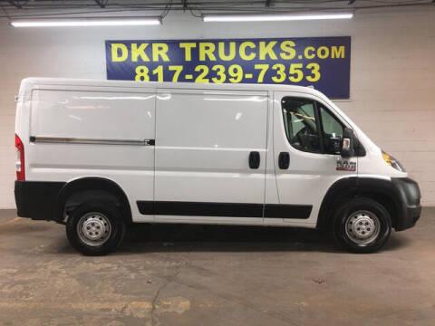 2015 RAM ProMaster Cargo for sale at DKR Trucks in Arlington TX