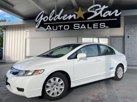 2010 Honda Civic for sale at Golden Star Auto Sales in Sacramento CA