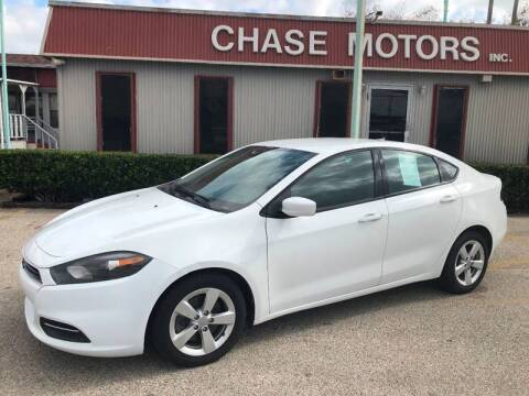 2015 Dodge Dart for sale at Chase Motors Inc in Stafford TX