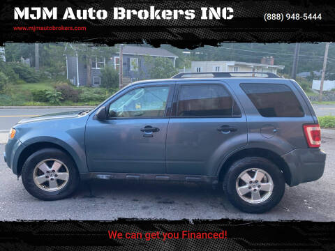 2011 Ford Escape for sale at MJM Auto Brokers INC in Gloucester MA