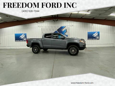 2021 Chevrolet Colorado for sale at Freedom Ford Inc in Gunnison UT