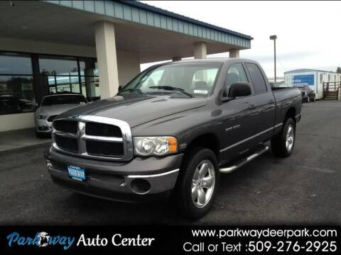 2004 Dodge Ram Pickup 1500 for sale at PARKWAY AUTO CENTER AND RV in Deer Park WA