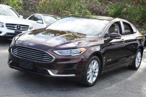 2019 Ford Fusion Hybrid for sale at Automall Collection in Peabody MA