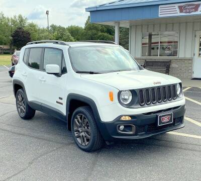 2016 Jeep Renegade for sale at Clapper MotorCars in Janesville WI