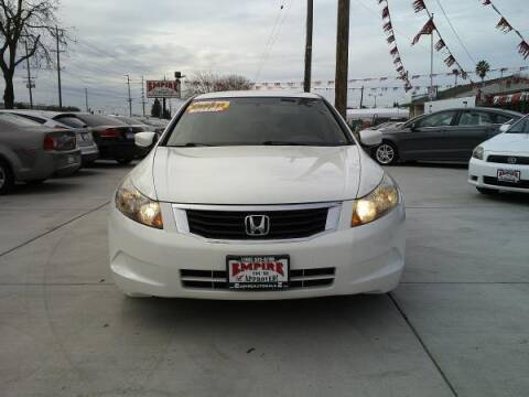 2008 Honda Accord for sale at Empire Auto Sales in Modesto CA