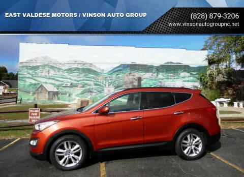 2013 Hyundai Santa Fe Sport for sale at EAST VALDESE MOTORS / VINSON AUTO GROUP in Valdese NC