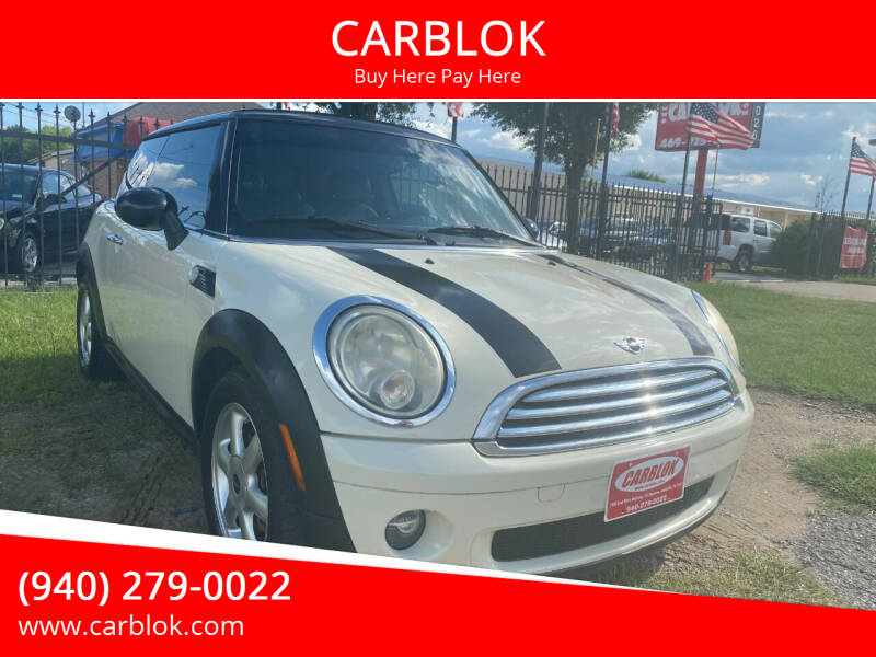 2010 MINI Cooper for sale at CARBLOK in Lewisville TX