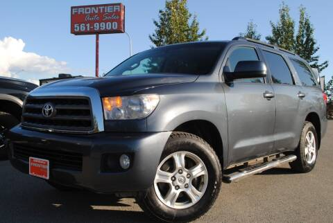 2008 Toyota Sequoia for sale at Frontier Auto & RV Sales in Anchorage AK