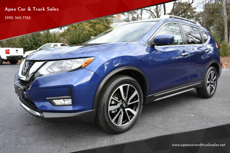 2020 Nissan Rogue for sale at Apex Car & Truck Sales in Apex NC