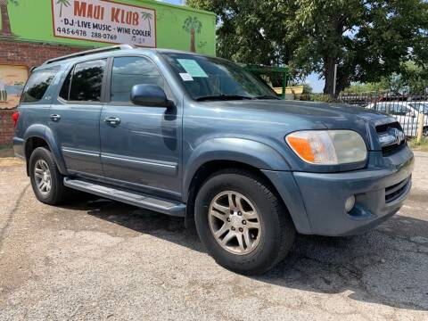 2005 Toyota Sequoia for sale at C.J. AUTO SALES llc. in San Antonio TX
