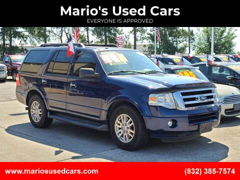 2011 Ford Expedition for sale at Mario's Used Cars in Houston TX