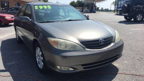 2003 Toyota Camry for sale at S & H AUTO LLC in Granite Falls NC