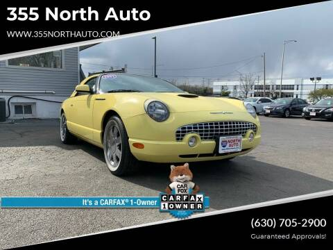 2002 Ford Thunderbird for sale at 355 North Auto in Lombard IL