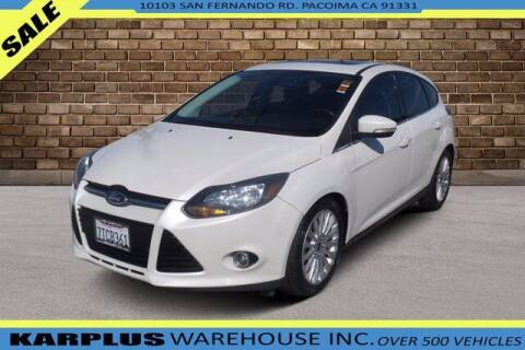 2012 Ford Focus for sale at Karplus Warehouse in Pacoima CA